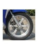 "Front Rim Silver scooter 16"" (Urban LF125T-9R)"