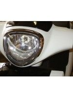 Side Cover Rear. RH. (White) (Lifan LF125T-9R)