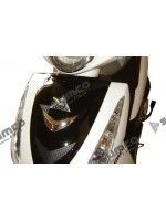 Front Fairing Chromed Triangle (LIFAN Travellier 125 LF125T-9R)