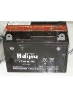 Maintenance free Battery HAIJIU YTX6.5L-BS for SKYTEAM ACE 125