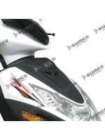 Plastic Cover Above Headlight (Black) LIFAN S-RAY 50cc 125cc (LF125T-26)