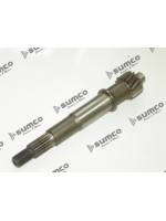 Eje Embrague - Polea Conducida (Transmision Final) (MS125) GY6 125cc 4T / Rear Disc /12 inch