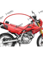 Seat Red LIFAN Eagle125 -LF125GY-6