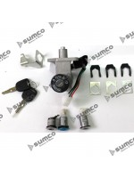 Lock Kit Assy (LUNA 125cc) (ZNEN ZN125T-F)