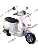 Front Cover (White) (RM125EFI) ZNEN ZN125T-30A