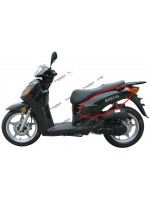 Body Side Cover RH (Black) (SG125-Xingyue XY125T-12)