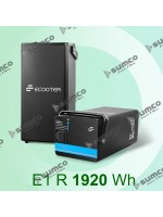 Battery Lithium Battery Lithium Ecooter E1RR 2.56 kWh (64V/40Ah) removable