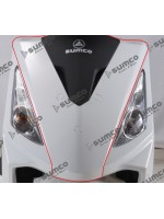 Guard Front Cover (Black) (RM125EFI) ZNEN ZN125T-30A